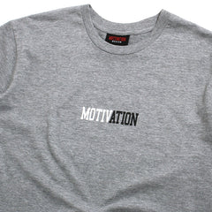 Motivation Logo T-Shirt Grey Heather
