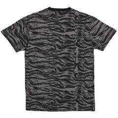 Battle Tested Pocket T-Shirt Black Tiger Camo