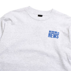 Eyewitness Longsleeve T-Shirt Ash Grey