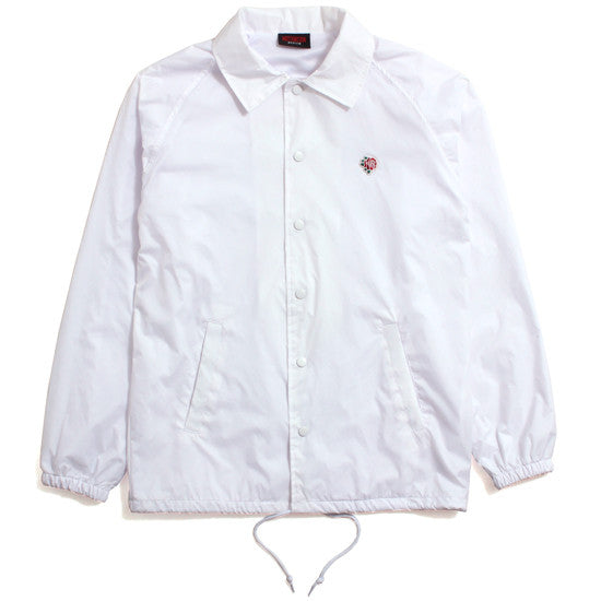 Only The Strong Coach's Jacket White