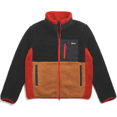 Mattawa Colourblock Fleece Jacket Black