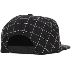 Trauma Snapback Hat Black