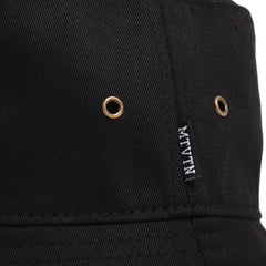 Rose Logo Bucket Hat Black