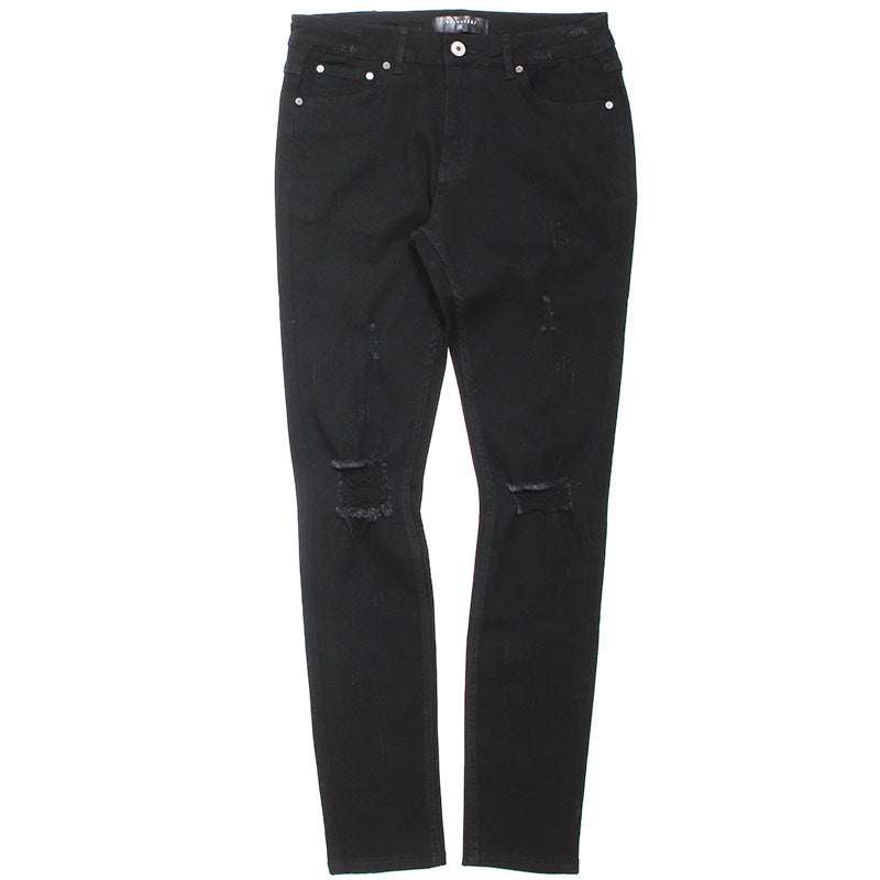Midnight Black Jeans Black