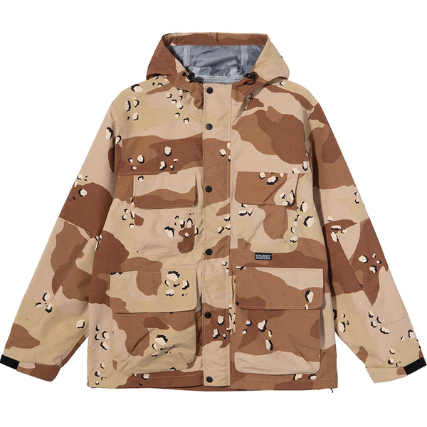 Camo Taped Seam Field Jacket Desert Camo