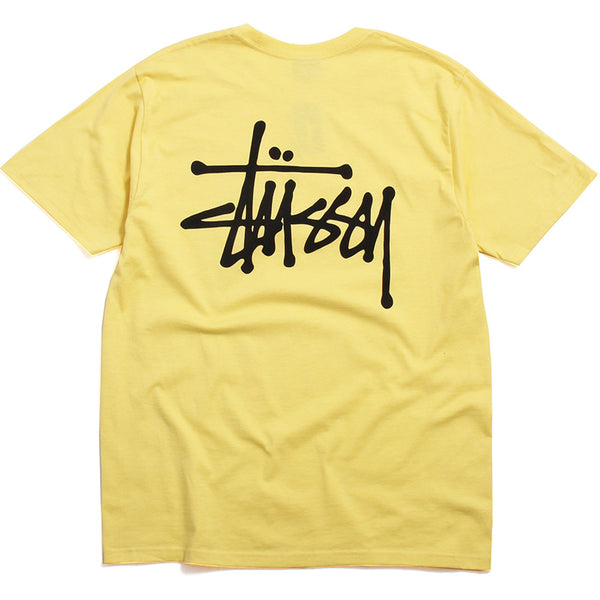 SP20 Basic Stussy T-Shirt Yellow