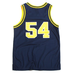 University of Michigan #54 Tractor Traylor Stitched Authentic Nike Basketball Jersey Navy (44 - Large)