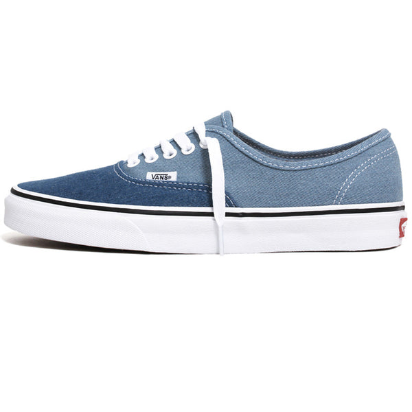 Denim 2-Tone Authentic Sneakers Blue