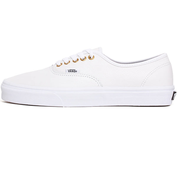 Leather Authentic Sneakers True White / True White