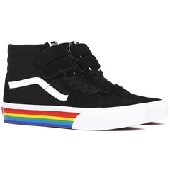 Rainbow Sk8-Hi V Platform Sneakers Black / True White