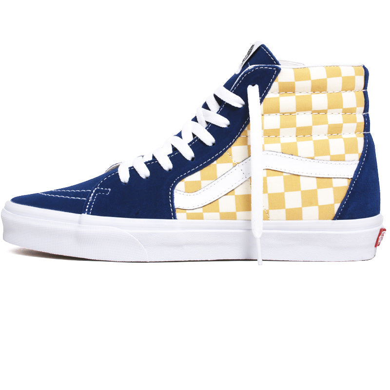 Sk8-Hi BMX Checkerboard Sneakers True Blue / Yellow