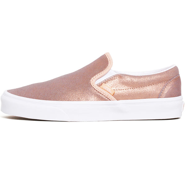 Classic Slip-On Women's Sneakers Rose Gold / Rose Gold
