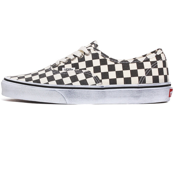 Washed Authentic Sneakers Asphalt / True White