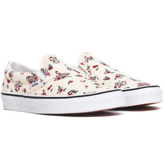 Ditsy Floral Classic Slip-On Women's Sneakers Classic White / True White