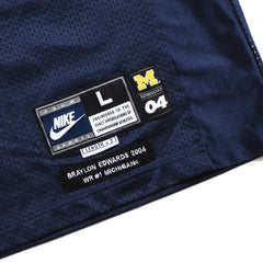 University of Michigan Braylon Edwards 2004 Nike Football Jersey Navy (Large)