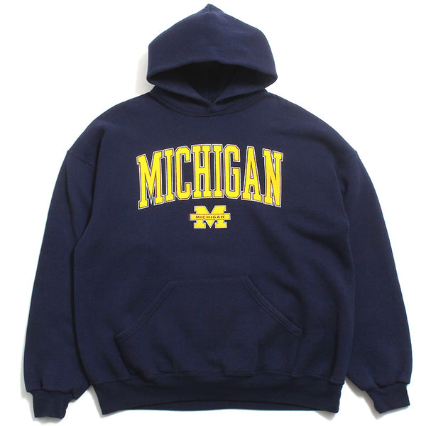 University of Michigan Arch & Bar M Soffe Hoodie Navy (XL)