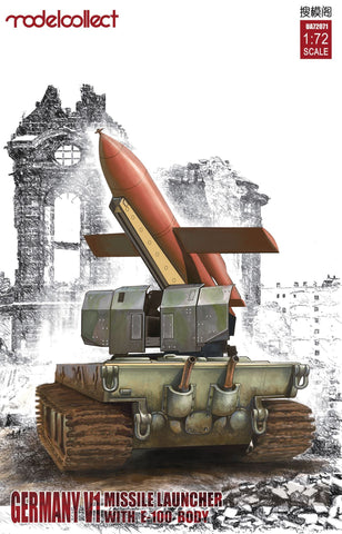 Germany V1 Missile launcher with E-100 body (1/72) - Pegasus Hobby Supplies