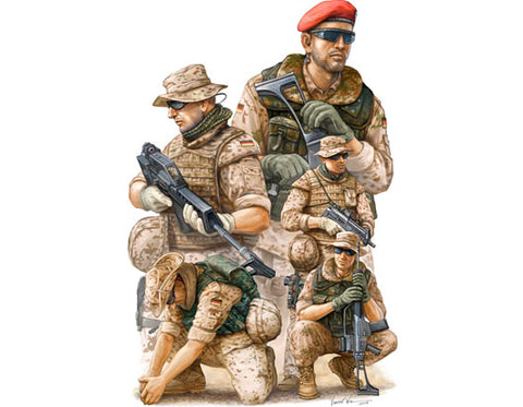 Modern German ISAF Soldiers in Afghanistan - Pegasus Hobby Supplies