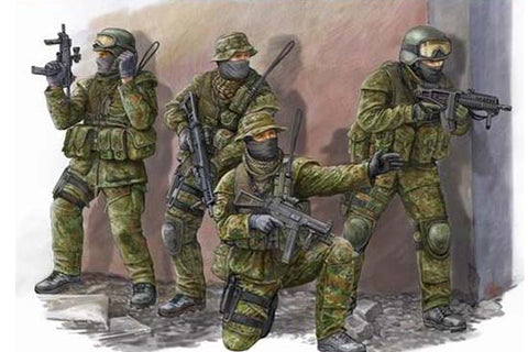 Modern German KSK Commandos - Pegasus Hobby Supplies