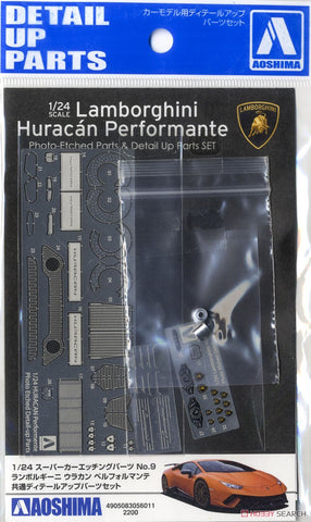 Aoshima : Lamborghini Huracan Performante (Detail Up Set) 1/24
