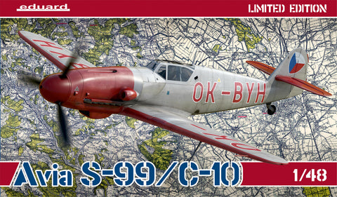 Avia S-99/C-10 Limited Edition (1/48) - Pegasus Hobby Supplies