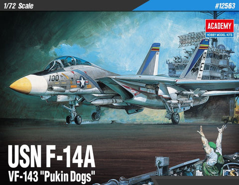 "USN F-14A VF-143 ""Pukin Dogs"" (1/72)"