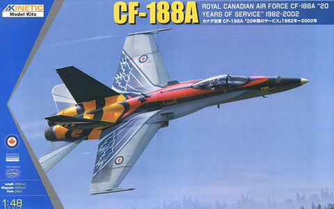 "CF-188A ""20 Years of Service RCAF"" (1/48) - Pegasus Hobby Supplies"