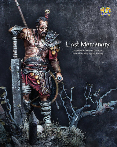 Last Mercenary (75mm) - Pegasus Hobby Supplies