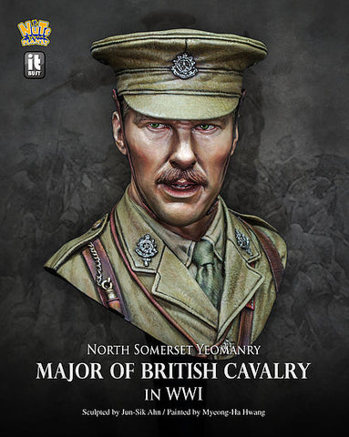 Major of British Cavalry in WWI (1/10) - Pegasus Hobby Supplies