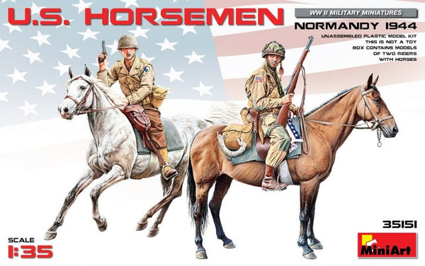 1/35 U.S. Horseman Normandy