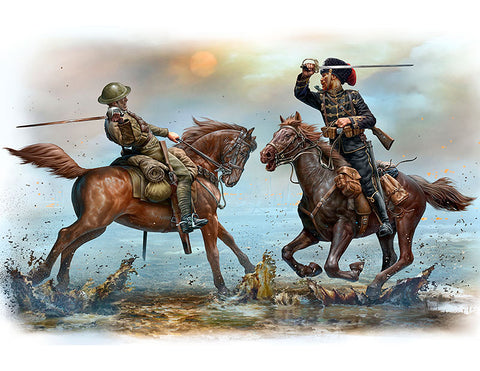 British and German Cavalrey WW1 (1/35)