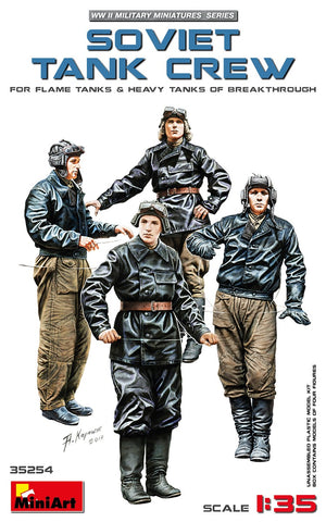 Soviet Tank Crew Heavy Tanks  (1/35) - Pegasus Hobby Supplies