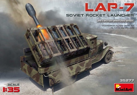 Soviet Rocket Launcher LAP-7 (1/35) - Pegasus Hobby Supplies