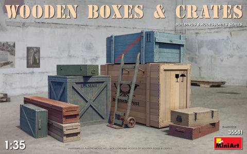 Wooden Boxes and Crates  (1/35) - Pegasus Hobby Supplies
