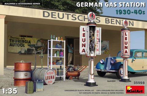 German Gas Station 30's-40's (1/35)