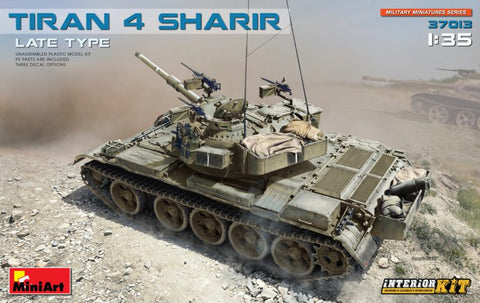"Tiran 4 SHARIR LAte Type ""Interior Kit""  (1/35)"