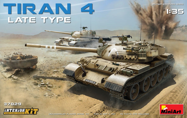 Tiran 4 Late Interior Kit  (1/35)