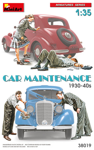 Car Maintenance 1930-40s (1/35)