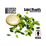 "Miniature Leaf Punch [LIGHT GREEN] ""OAK"" - Pegasus Hobby Supplies"