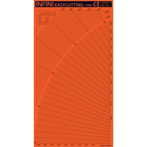 INFINI Easy Cutting Type C (Curve) - Pegasus Hobby Supplies