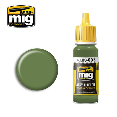 RAL 6011 Resedagrün (17ml) - Pegasus Hobby Supplies