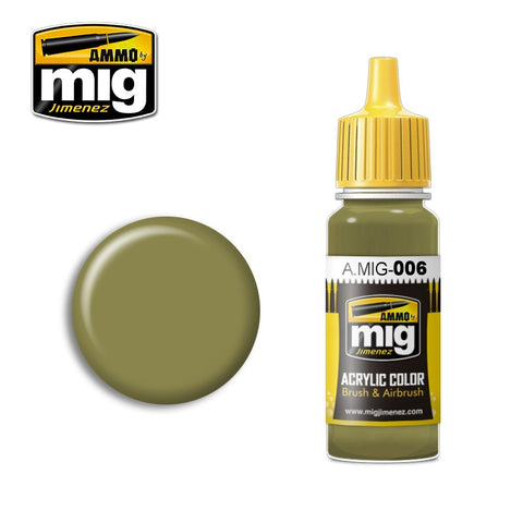 RAL 7008 Graugrün Opt.2 (17ml) - Pegasus Hobby Supplies