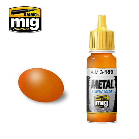 METAL : Orange (17ml) - Pegasus Hobby Supplies