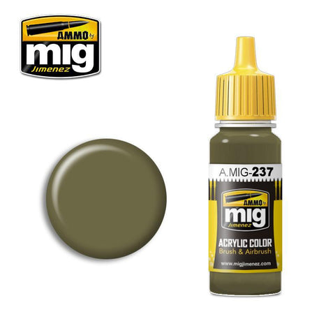 FS 23070 Dark Olive Drab (17ml) - Pegasus Hobby Supplies