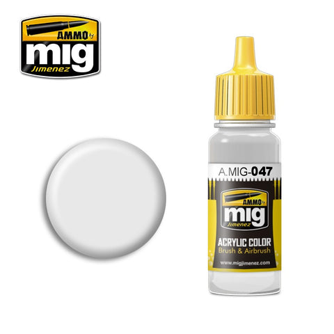 Satin White (17ml) - Pegasus Hobby Supplies