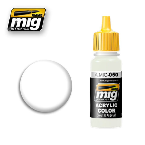 Matte White (17ml) - Pegasus Hobby Supplies