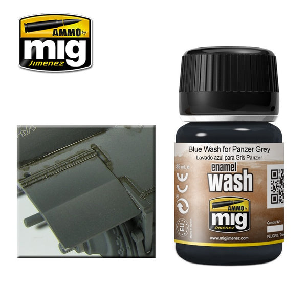 Blue Wash for Panzer Grey (35ml)