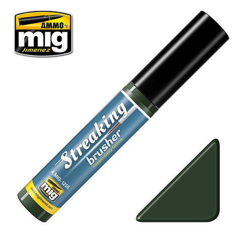 Streaking Brusher - Green Grey Grime - Pegasus Hobby Supplies
