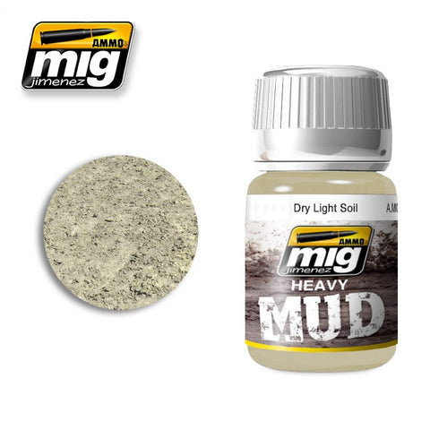 Heavy Mud Texture - Dry Light Soil (35ml) - Pegasus Hobby Supplies