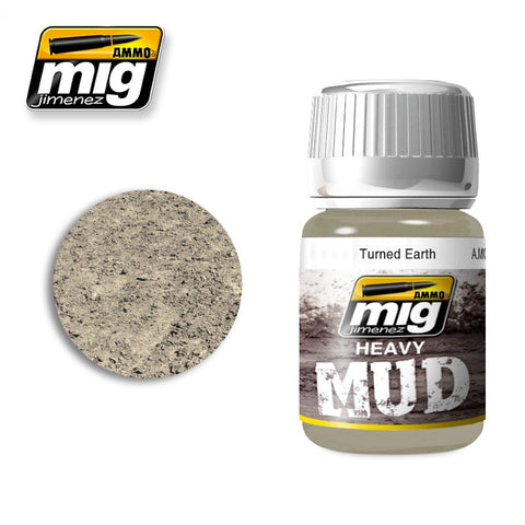 Heavy Mud Texture - Turned Earth (35ml) - Pegasus Hobby Supplies